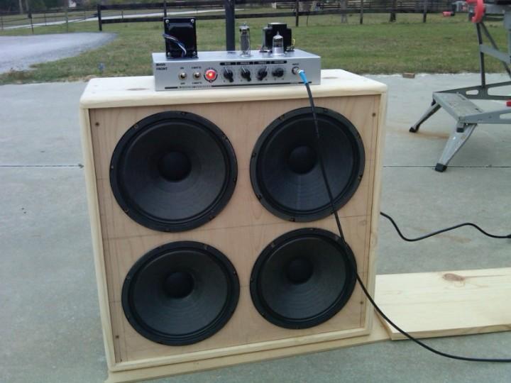 speaker cabinet plans guitar